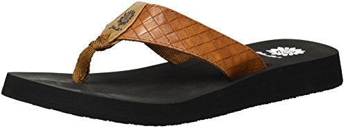 Yellow Cocoa Women's Tan Box Sandal xp6pY4rq