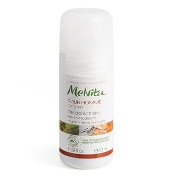 Melvita Men – Roll-on Deodorant – MEN, 1.69 fl.oz Bottle