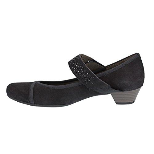 Gabor 45.420.16 - Zapatos de vestir de Piel para mujer Azul azul Azul - azul
