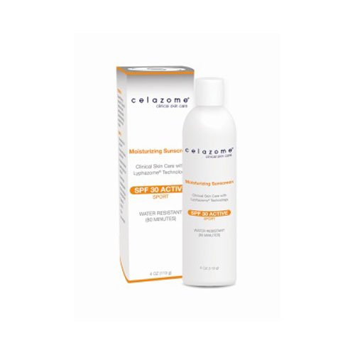 Celazome Moisturizing Sunscreen SPF 30 4ounce