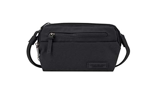 Travelon: Anti-Theft Metro Convertible Small Crossbody Bag - Black