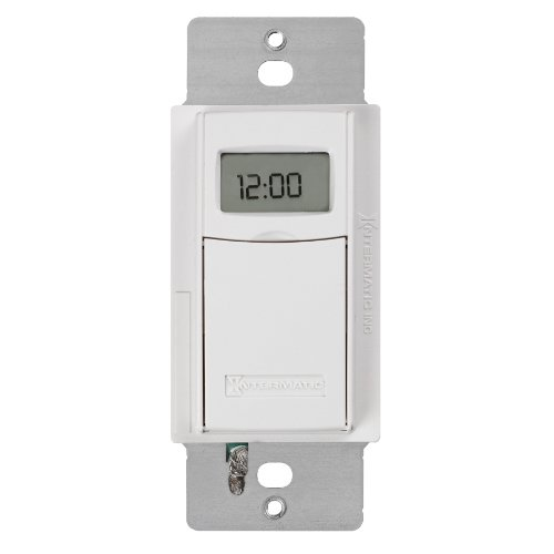 about intermatic st01 7 day programmable in wall digital timer switch. Black Bedroom Furniture Sets. Home Design Ideas