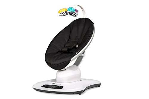 4moms mamaRoo 4 Bluetooth-Enabled high-tech Baby Swing – Classic Nylon Fabric with 5 Unique motions by 4moms (Image #5)