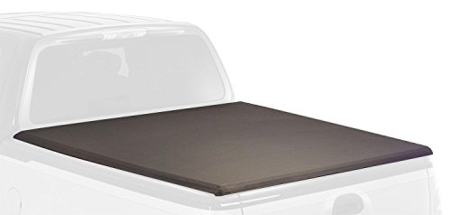 Torza Top - Advantage Truck Accessories 83024 Black Torza Top Premier Soft Folding Tonneau Cover
