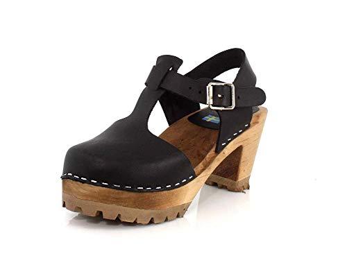MIA Women's Madeline Clog, Black (7 M US)