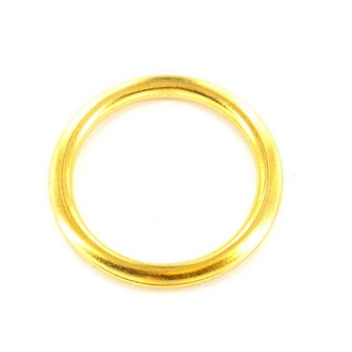 Securit Curtain Rings Brass x 18-20mm VDTAZ012