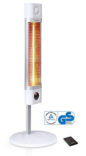 Veito infrarrojos Estufa Vertical CH 1800 RE Blanco: Amazon ...