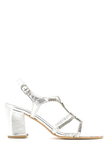Apepazza PAL08 High heeled sandals Women Silver
