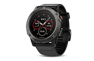Garmin Fenix 5X Sapphire - Slate Gray with Black Band (B01MQX3306) | Amazon Products