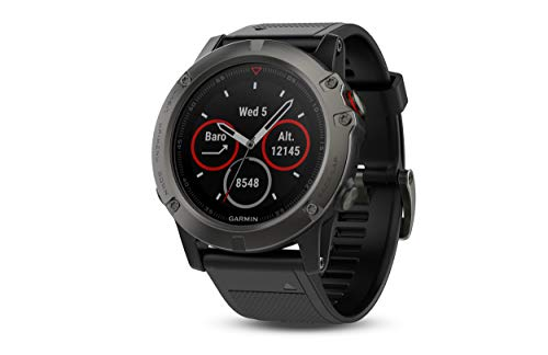 Garmin Fenix 5X Sapphire - Slate Gray with Black Band from Garmin