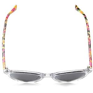 Puma Unisex Kids' Junior Sunglasses, Multicolour (Crystal/Silver/Havana), 47.0
