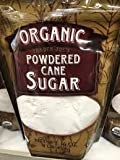 Trader Joe's Organic Powdered Cane Sugar 1-Lb (Pack of 2)