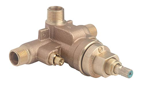 (Symmons 261XBODY Temptrol Brass Pressure-Balancing Shower Valve with Service Stops)