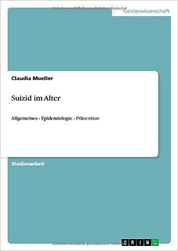 Suizid Im Alter (German Edition)