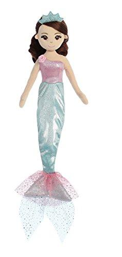 (Aurora World Sea Sparkles Mermaid, Princess, Teal)