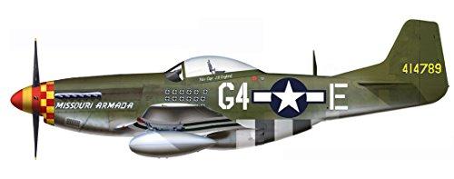 1/48 P-51D マスタング `ミズーリ・アルマダ` HA7728