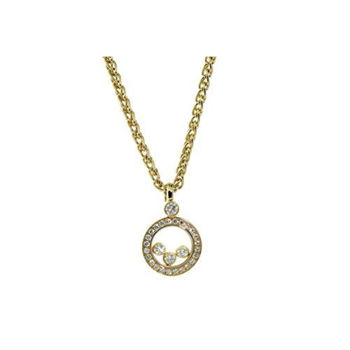 d Yellow Gold Diamond Necklace 793957-0001 (Chopard Diamond Necklace)