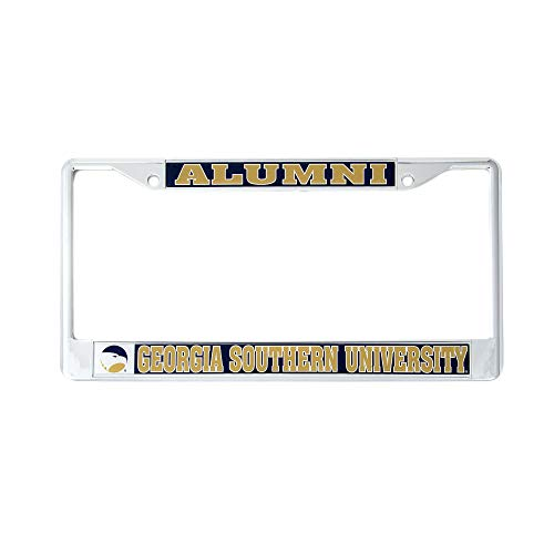Desert Cactus Georgia Southern University Alumni Metal License Plate Frame for Front Back of Car Officially Licensed GSU Eagles (Alumni)