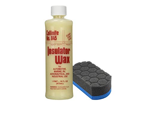 Collinite Liquid Insulator Wax #845 (16 oz Combo) (Best Car Wax For The Money)