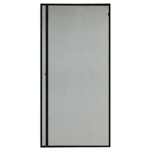 - Magnetic Screen Door 39x83in Black Entry Front Door Curtain, Upgrade Left Side Opening Door Mesh with Magnets Great for Keeping Mosquitos Bugs Out
