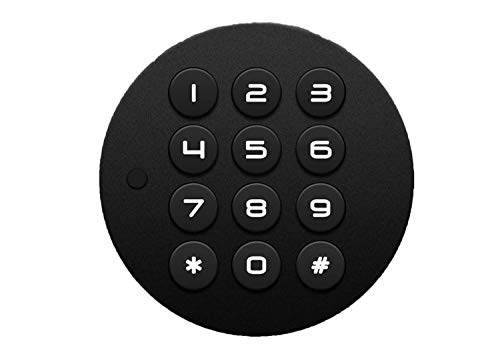 Ozone Smart Furniture Lock OZFL-88-P; Round, Handy, and Compact; 24 Months Warranty; Master PIN Code Access; Automatic…