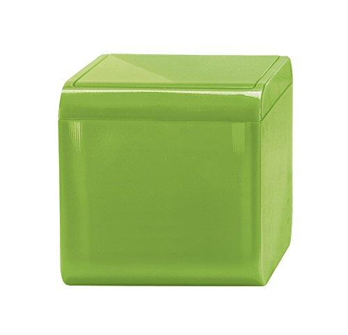 Kleine Wolke 5818645858/Mini pattumiera da Bagno Bobby 12,5/x 12,5/x 12,5/cm Verde capacit/à: 1,5/l