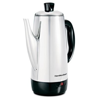 Hamilton Beach Stainless Steel 12-Cup Percolator from Hamilton Beach