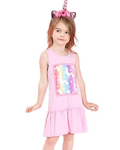 Liliane Girls Dresses Little Girls Dresses 7-16 Girls Dresses Size 7 Unicorn Gifts A140-67Y ()