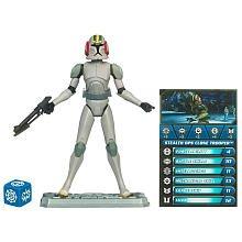 Star Wars Clone Wars 2010 Series Exclusive Stealth Operations Clone Trooper Figure
