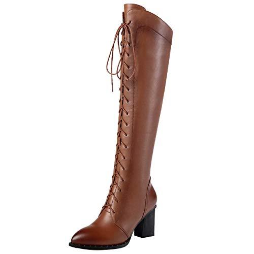 brunes femmes pour Bottes Jyshoes classiques wqt6FIFv