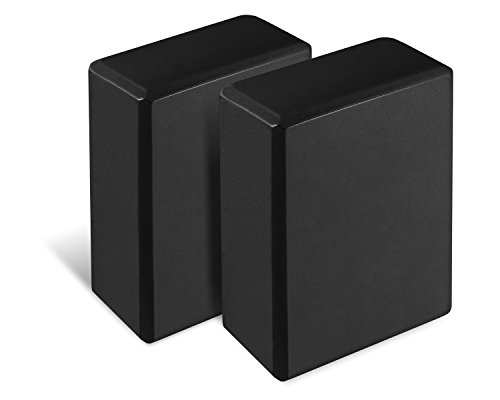Yes4All High Density Eva Foam Blocks (Set of 2) - Multi Color Available - Non Slip, Scratch Proof Surface & Eco-Friendly
