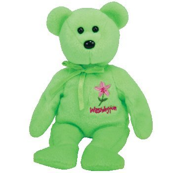 ty-beanie-baby-washington-rhododendron-the-bear-show-exclusive