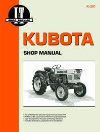 Kubota L245DT Tractor Service Manual (IT Shop)
