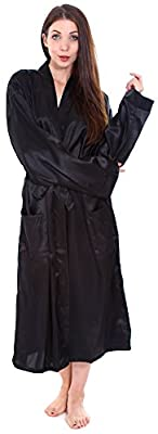 Simplicity® Unisex Long Satin Kimono Robe Sleepwear