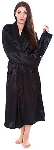 Simplicity%C2%AE Unisex Satin Kimono Sleepwear