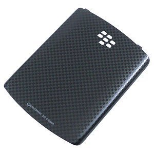 BlackBerry OEM Curve 3G, Curve 8530, 8520 Battery Door/Cover - Black Checker