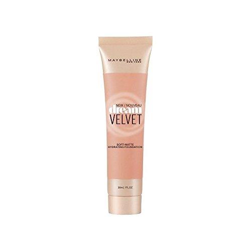 メイベリンの夢のベルベット基盤ハニーベージュ x4 - Maybelline Dream Velvet Foundation Honey Beige (Pack of 4) [並行輸入品] B071V7SJ7Z