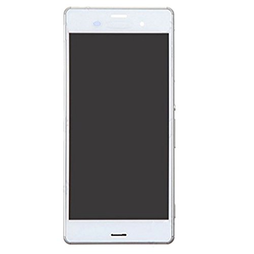 Homyl Replacement Pats,LCD Display + Touch Screen Assembly for Sony Xperia Z3 Mini Compact D6603 5.2 inch (White) by Homyl