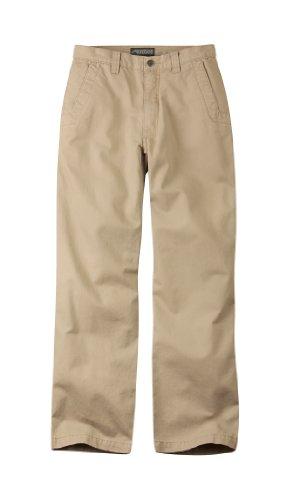Teton Twill Pant - Mountain Khakis Men's Teton Twill Pant Relaxed Fit, Retro Khaki, 44 x 32-Inch