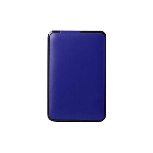 80g External Hard Drive - Removable Hard Disk, Portable USB Flash Drive Large Capacity, 80G / 120G / 160G / 250G / 320G / 500G / 750G / 1TB / 2TB High-Speed Transmission USB3.0 Mobile Hard Disk Memory Blue (Size : 80GB)
