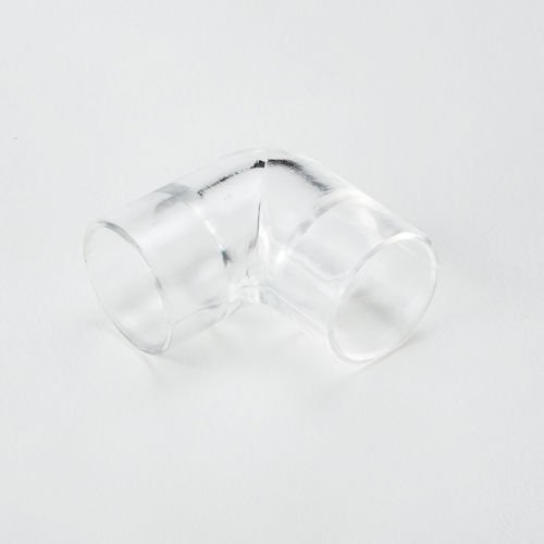 (10 Pack) Clear Elbow Female 90 Deg Fits 1/2 ID 5/8 OD Acrylic PolyCarbonate PVC Tube