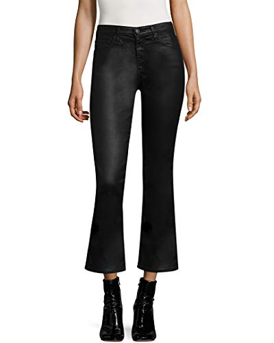 AG Adriano Goldschmied Ag Jeans Womens Jodi Crop Leatherette Pant, 29