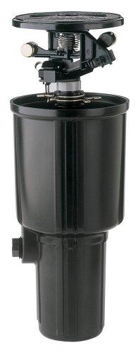 Adjustable Impact Sprinkler (Rain Bird LG-3 Low Gallonage Pop-up Impact Sprinkler, Adjustable 0° - 360° Pattern, 26' - 41' Spray Distance)