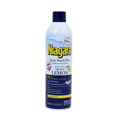 2 Pk. Niagara Spray Starch Plus Heavy Lemon Professional Finish 20 Oz