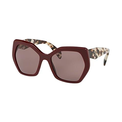 350dd68fcc Mejor Prada 0PR16RS VIY6X1, Gafas de Sol para Mujer, Rojo (Bordeaux/Purple