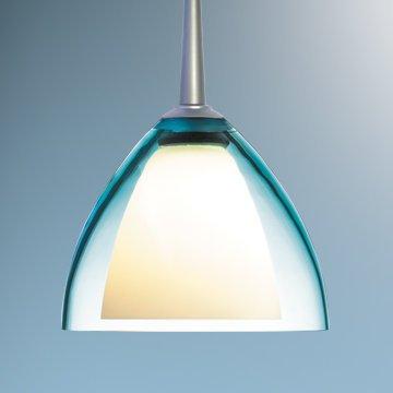 - Rainbow II 1 Light Monopoint Mini Pendant Canopy/Bulb type: 2