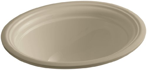 Mexican Sand Vessels (KOHLER K-2350-33 Devonshire Undercounter Bathroom Sink, Mexican Sand)