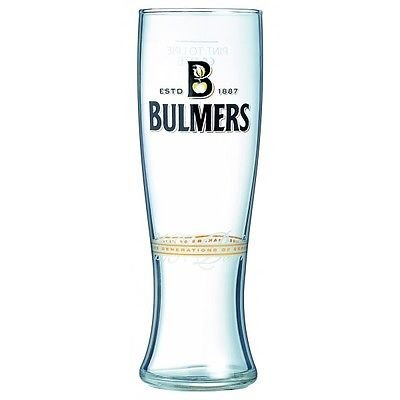 Personalised Branded 1 Pint Bulmers Cider Glass Birthday Gift Boxed