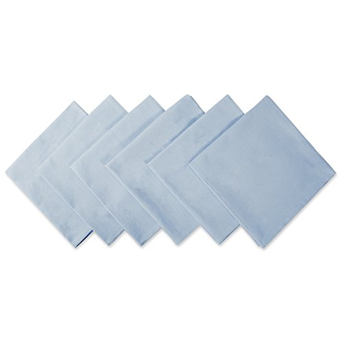 Light Blue Dinner Napkins - 6