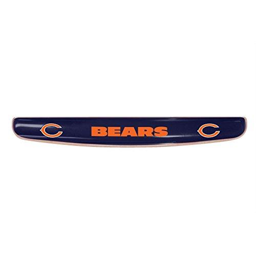Fanmats 17699 NFL Chicago Bears Gel Keyboard Wrist Rest
